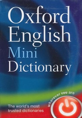 Oxford English Mini Dictionary  -     By: Oxford Dictionaries