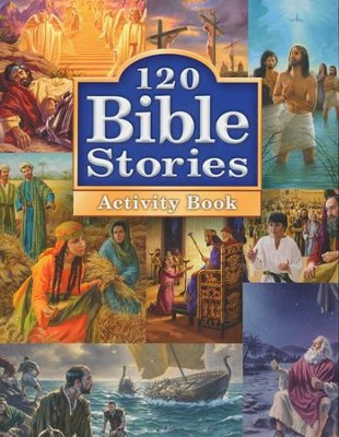 120 Bible Stories Activity Book  -     By: Concordia Publishing House
