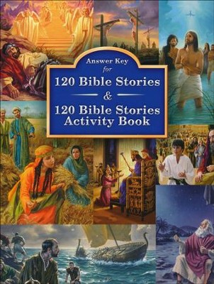 Answer Key to 120 Bible Stories Activity Book  -     By: Concordia Publishing House