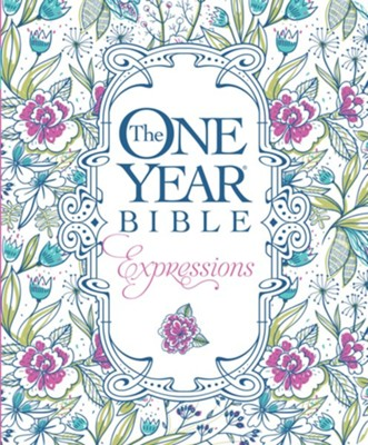 NLT, The One Year Bible Creative Expressions Edition, Softcover  -