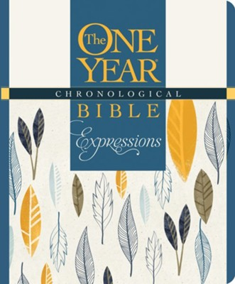 The One Year Chronological Bible Creative Expressions, Hardcover  -