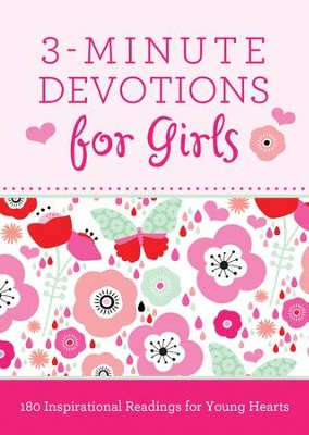 3-Minute Devotions for Girls: 180 Inspirational Readings for Young Hearts - eBook  -     By: Janice Hanna