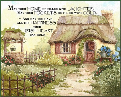 May your Home be Filled Plaque  -     By: Diane Knott