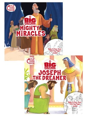 Mighty Miracles/Joseph the Dreamer Flip-Over Book  -