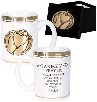 A Caregiver's Prayer Mug with Gift Box  -