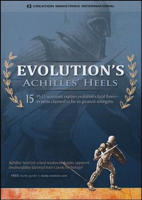 Evolution's Achilles Heels, DVD   -