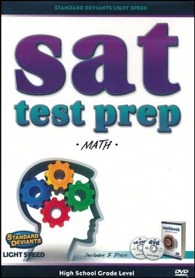 Light Speed SAT Test Prep: Math DVD   -