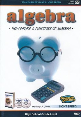 Light Speed Algebra: The Powers and Functions DVD   -