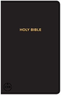 CSB Gift & Award Bible, Black Imitation Leather  -