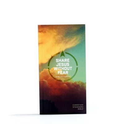 CSB Share Jesus Without Fear New Testament, Paperback  -