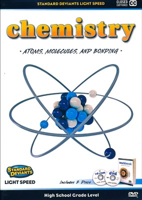 Light Speed Chemistry Module 1: Atoms, Molecules, and Bonding DVD  -