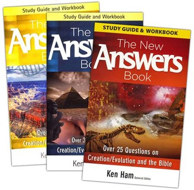 New Answers Book Study Guides, 3 Volumes  -