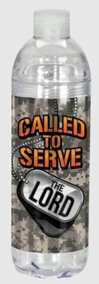 Called To Serve the Lord Water Bottle  -