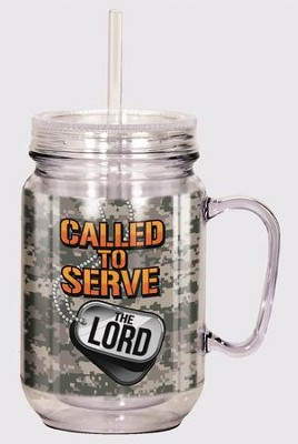 Called to Serve the Lord Mason Jar  -