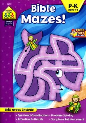 Bible Mazes! Ages 4-6   -