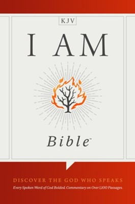 KJV I Am Bible, Hardcover  -
