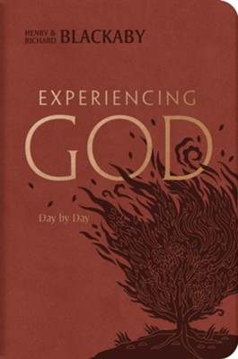Experiencing God Day by Day, LeatherTouch Edition  -     By: Henry Blackaby, Richard Blackaby