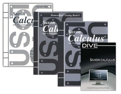 Saxon Calculus Kit & DIVE CD-ROM, 2nd Edition   -