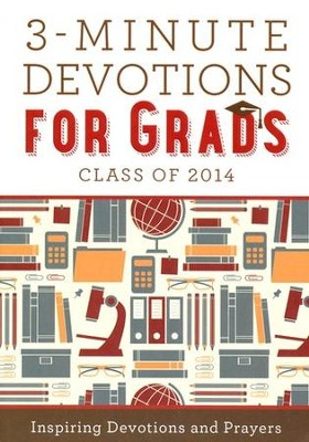 3-Minute Devotions for Grads: Inspiring Devotions and Prayers - eBook  -