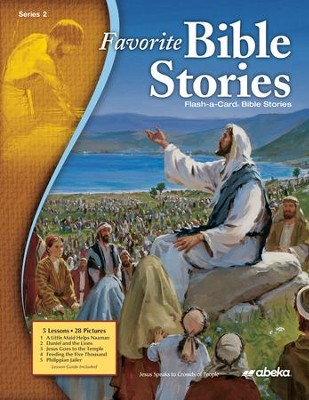 Abeka Favorite Bible Stories 2 Flash-A-Card Bible Series  (New Edition)  -