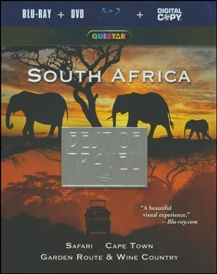 SOUTH AFRICA: Safari, Cape Town, Garden Route & Wine Country - DVD  -     By: Rudy Maxa
