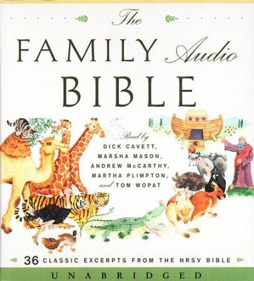 The Family Audio Bible on CD   -