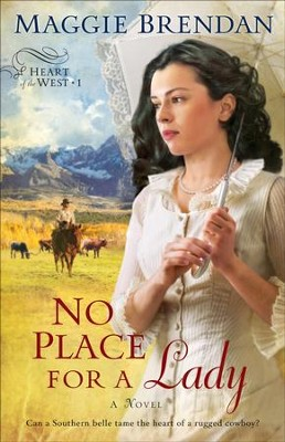 No Place for a Lady: A Novel - eBook  -     By: Maggie Brendan