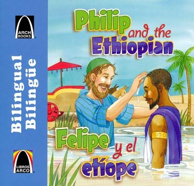 Felipe y el et&#237ope, Philip and the Ethiopian  -     Translated By: Cecilia Fau Fernandez     By: Martha Streufert Jander     Illustrated By: Kathy Miller