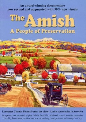 The Amish: A People of Preservation, DVD   -