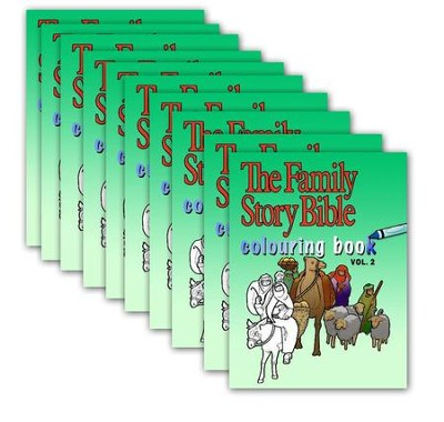 The Family Story Bible Colouring Book Volume 2 10-Pack  -     By: Mararet Kyle