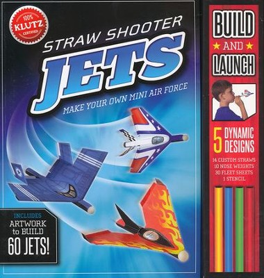 Straw Shooter Jets: Make your own mini air force  -