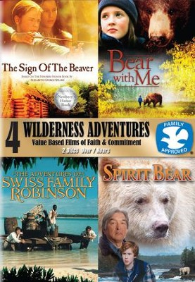4 Wilderness Adventures - 2 pack  -