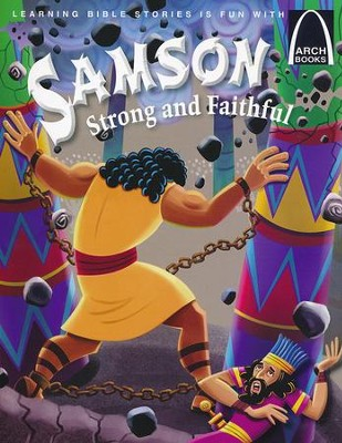 Samson, Strong and Faithful  -     By: Michelle Medlock Adams