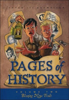 Pages of History 2: Blazing New Trails   -     By: Etter & Detweiler