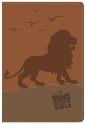 The CSB Big Picture Interactive Bible, Lion LeatherTouch  -