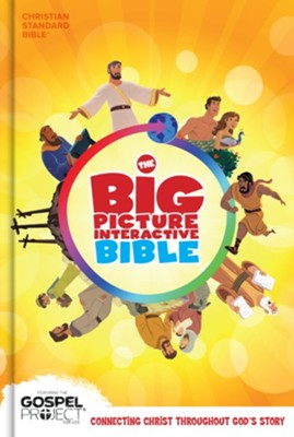 The CSB Big Picture Interactive Bible, Hardcover  -