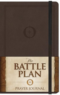 The Battle Plan Prayer Journal, Larger Size  -     By: Alex Kendrick, Stephen Kendrick