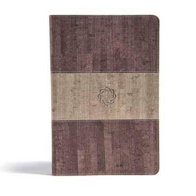 CSB Essential Teen Study Bible, Weathered Gray Cork LeatherTouch  -