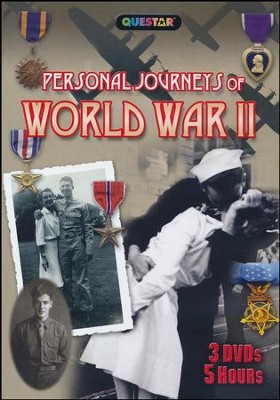 Personal Journeys of WWII, 3-DVD Set   -