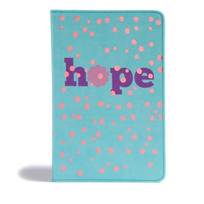 CSB Kids Bible, Hope LeatherTouch  -