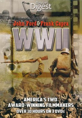 John Ford & Frank Capra: World War II, 3-DVD Set   -     By: John Ford (Director) & Frank Capra (Director)