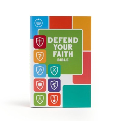 CSB Defend Your Faith Bible: The Apologetics Bible for Kids, Hardcover  -     Edited By: Jesse Florea