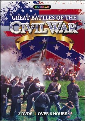 Great Battles of the Civil War, 3-DVD Set   -