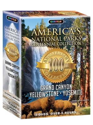 America's National Parks Centennial Collection: Yellowstone - Grand Canyon - Yosemite  -