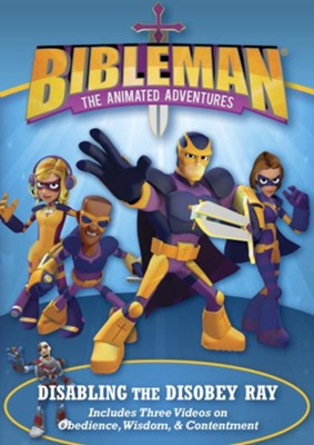 Bibleman: Disabling the Disobey Ray, DVD   -