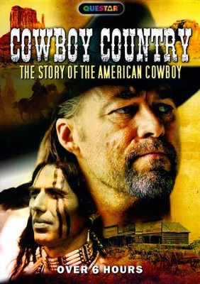Cowboy Country: The Story of the American Cowboy, DVD   -