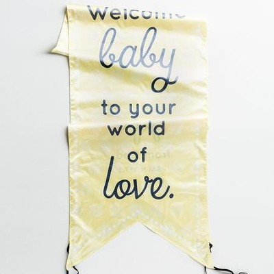God Created Everything Good, Welcome Baby, Door D&#233cor  -