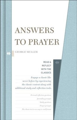 Answers to Prayer: Read & Reflect with the Classics    -     By: George Muller