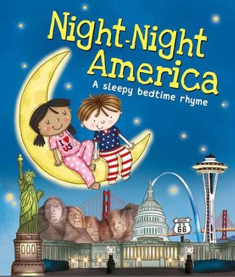 Night-Night America  -     By: Katherine Sully     Illustrated By: Helen Poole