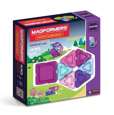 Magformers Inspire Solids, 14 Pieces  -